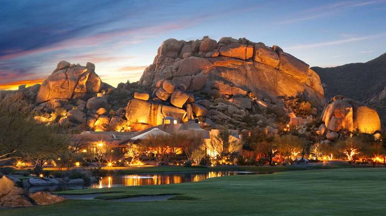 """Boulders Resort  and  Spa, Curio Coll Exterior. Images powered by <a href=""""http://web.iceportal.com"""" target=""""_blank"""" rel=""""noopener"""">Ice Portal</a>."""