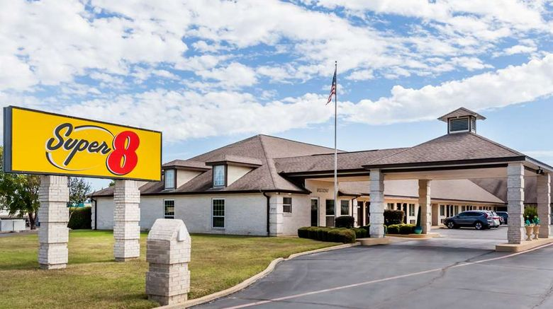 """Super 8 Cleburne Exterior. Images powered by <a href=""""http://web.iceportal.com"""" target=""""_blank"""" rel=""""noopener"""">Ice Portal</a>."""