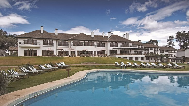 """Fairmont Mount Kenya Safari Club Exterior. Images powered by <a href=""""http://web.iceportal.com"""" target=""""_blank"""" rel=""""noopener"""">Ice Portal</a>."""