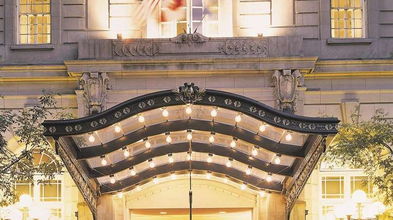 """The Fairmont Palliser Exterior. Images powered by <a href=""""http://web.iceportal.com"""" target=""""_blank"""" rel=""""noopener"""">Ice Portal</a>."""