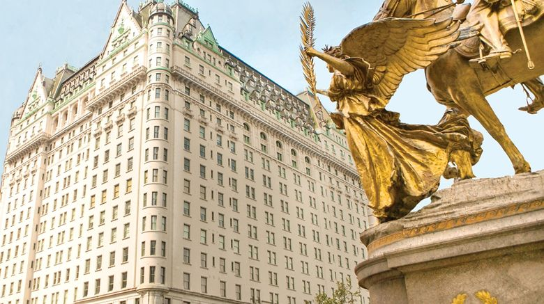 """The Plaza, New York Exterior. Images powered by <a href=""""http://web.iceportal.com"""" target=""""_blank"""" rel=""""noopener"""">Ice Portal</a>."""