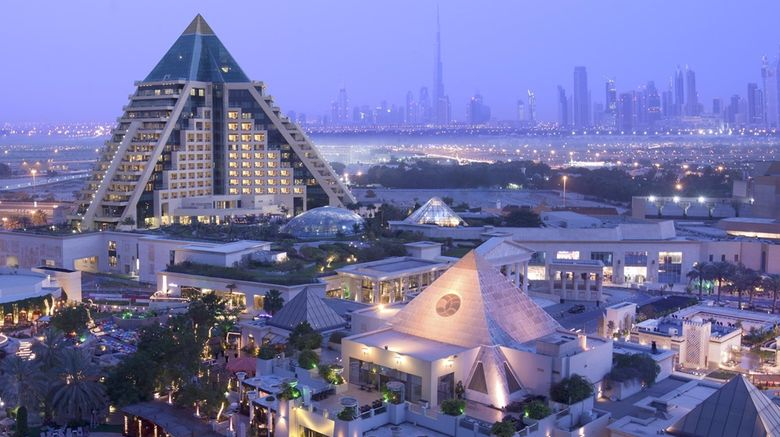 """Raffles Dubai Exterior. Images powered by <a href=""""http://web.iceportal.com"""" target=""""_blank"""" rel=""""noopener"""">Ice Portal</a>."""