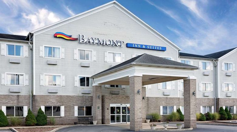 """Baymont Inn  and  Suites Lawrenceburg Exterior. Images powered by <a href=""""http://web.iceportal.com"""" target=""""_blank"""" rel=""""noopener"""">Ice Portal</a>."""