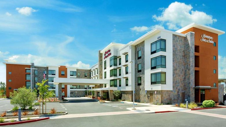 """Hampton Inn  and  Suites Napa Exterior. Images powered by <a href=""""http://web.iceportal.com"""" target=""""_blank"""" rel=""""noopener"""">Ice Portal</a>."""
