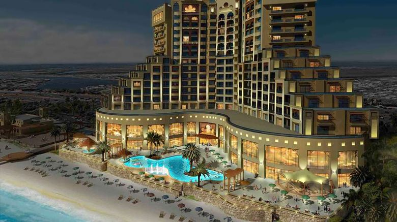 """Fairmont Ajman Exterior. Images powered by <a href=""""http://web.iceportal.com"""" target=""""_blank"""" rel=""""noopener"""">Ice Portal</a>."""