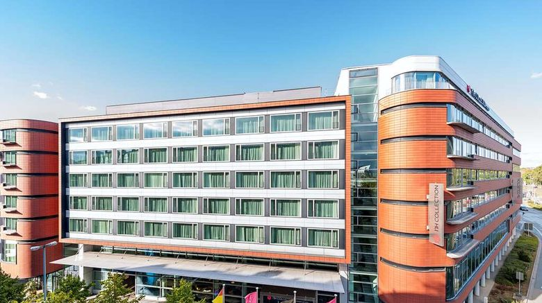 """NH Collection Frankfurt City Exterior. Images powered by <a href=""""http://web.iceportal.com"""" target=""""_blank"""" rel=""""noopener"""">Ice Portal</a>."""