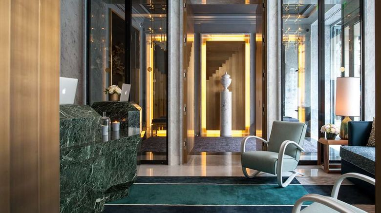 """Nolinski Paris Lobby. Images powered by <a href=""""http://web.iceportal.com"""" target=""""_blank"""" rel=""""noopener"""">Ice Portal</a>."""