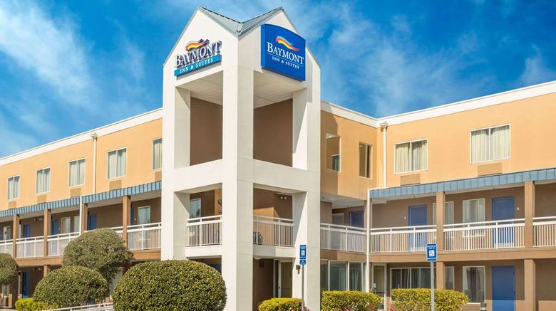 """Baymont Inn  and  Suites Savannah Midtown Exterior. Images powered by <a href=""""http://web.iceportal.com"""" target=""""_blank"""" rel=""""noopener"""">Ice Portal</a>."""