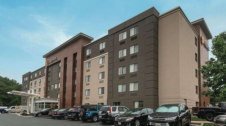 """La Quinta Inn  and  Suites Baltimore Airport Exterior. Images powered by <a href=""""http://web.iceportal.com"""" target=""""_blank"""" rel=""""noopener"""">Ice Portal</a>."""