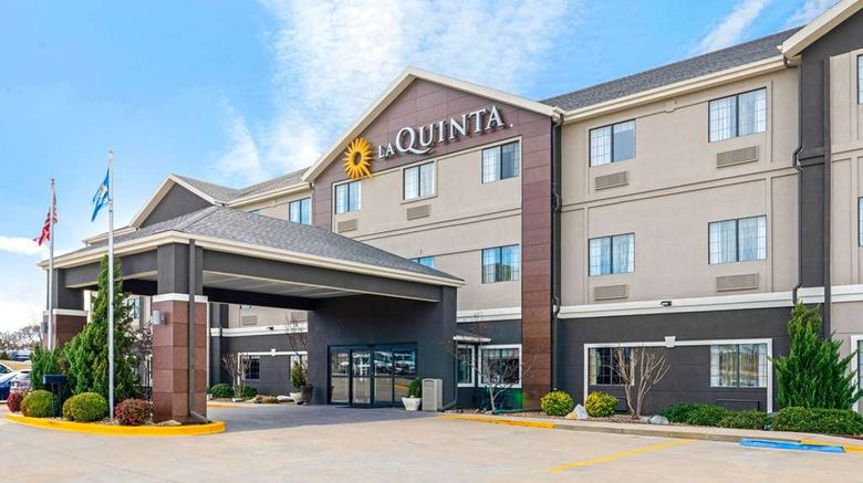 """La Quinta Inn  and  Suites Ada Exterior. Images powered by <a href=""""http://web.iceportal.com"""" target=""""_blank"""" rel=""""noopener"""">Ice Portal</a>."""