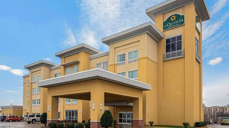 """La Quinta Inn  and  Suites Durant Exterior. Images powered by <a href=""""http://web.iceportal.com"""" target=""""_blank"""" rel=""""noopener"""">Ice Portal</a>."""