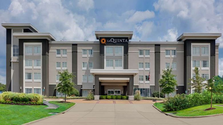 """La Quinta Inn  and  Suites Starkville Exterior. Images powered by <a href=""""http://web.iceportal.com"""" target=""""_blank"""" rel=""""noopener"""">Ice Portal</a>."""