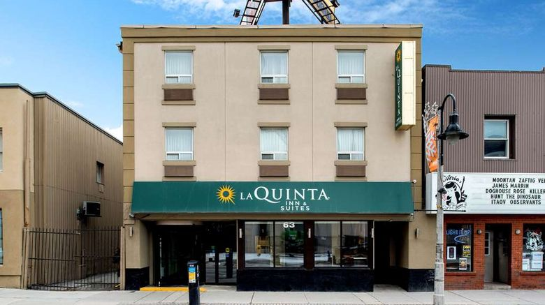 """La Quinta Inn  and  Suites Oshawa Exterior. Images powered by <a href=""""http://web.iceportal.com"""" target=""""_blank"""" rel=""""noopener"""">Ice Portal</a>."""