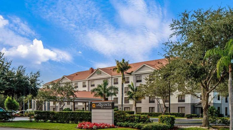 """La Quinta Inn  and  Sts Bonita Springs Exterior. Images powered by <a href=""""http://web.iceportal.com"""" target=""""_blank"""" rel=""""noopener"""">Ice Portal</a>."""