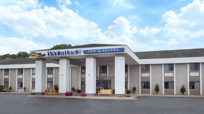 """Baymont Inn  and  Suites Grand Haven Exterior. Images powered by <a href=""""http://web.iceportal.com"""" target=""""_blank"""" rel=""""noopener"""">Ice Portal</a>."""