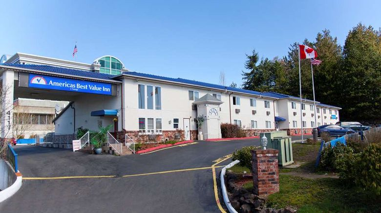 """Americas Best Value Inn Lynnwood/Seattle Exterior. Images powered by <a href=""""http://web.iceportal.com"""" target=""""_blank"""" rel=""""noopener"""">Ice Portal</a>."""