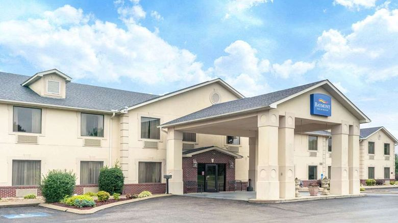 """Baymont by Wyndham Albany Exterior. Images powered by <a href=""""http://web.iceportal.com"""" target=""""_blank"""" rel=""""noopener"""">Ice Portal</a>."""