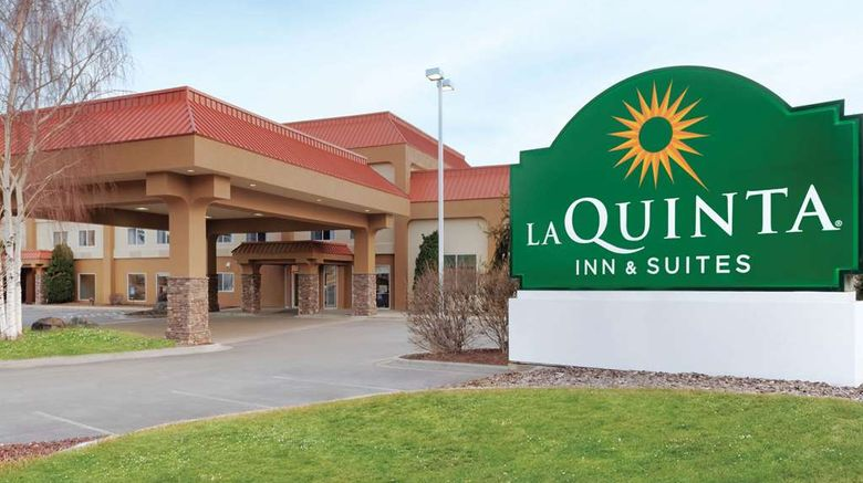 """La Quinta Inn  and  Suites Pocatello Exterior. Images powered by <a href=""""http://web.iceportal.com"""" target=""""_blank"""" rel=""""noopener"""">Ice Portal</a>."""