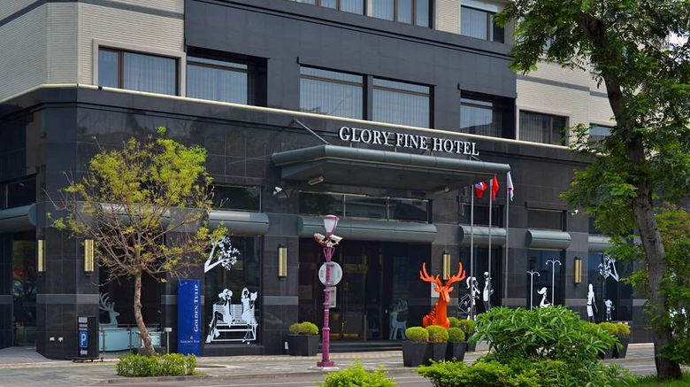 """Golden Tulip Glory Fine Hotel Exterior. Images powered by <a href=""""http://web.iceportal.com"""" target=""""_blank"""" rel=""""noopener"""">Ice Portal</a>."""
