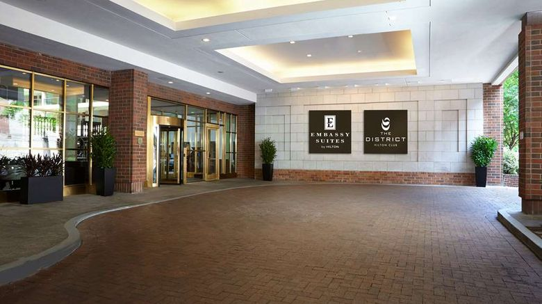 """The District by Hilton Club Exterior. Images powered by <a href=""""http://web.iceportal.com"""" target=""""_blank"""" rel=""""noopener"""">Ice Portal</a>."""