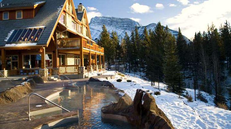 "Banff Hidden Ridge Resort Condo Exterior. Images powered by <a href=""http://web.iceportal.com"" target=""_blank"" rel=""noopener"">Ice Portal</a>."