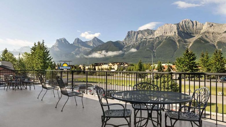 """Days Inn Canmore Exterior. Images powered by <a href=""""http://web.iceportal.com"""" target=""""_blank"""" rel=""""noopener"""">Ice Portal</a>."""