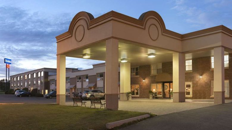 """Travelodge Edmundston Exterior. Images powered by <a href=""""http://web.iceportal.com"""" target=""""_blank"""" rel=""""noopener"""">Ice Portal</a>."""
