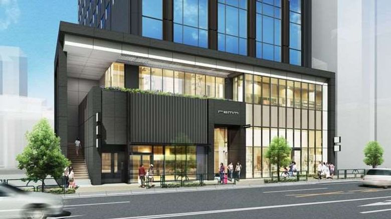 """Hotel Remm Roppongi Exterior. Images powered by <a href=""""http://web.iceportal.com"""" target=""""_blank"""" rel=""""noopener"""">Ice Portal</a>."""