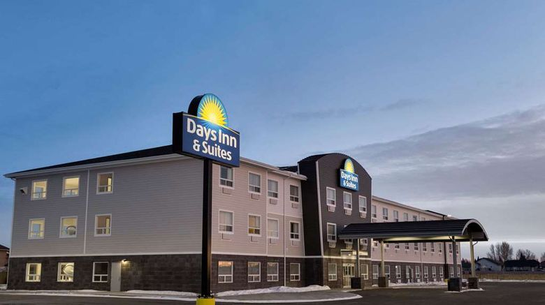 "Days Inn  and  Suites Warman Legends Ctr Exterior. Images powered by <a href=""http://web.iceportal.com"" target=""_blank"" rel=""noopener"">Ice Portal</a>."