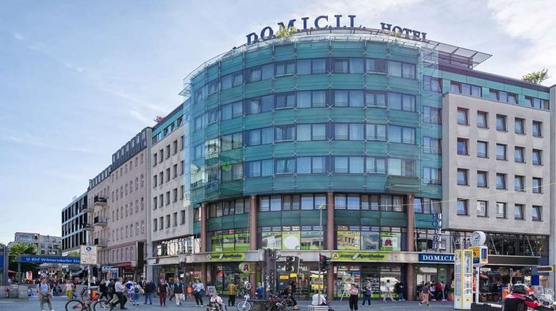 """Hotel Domicil Berlin by Golden Tulip Exterior. Images powered by <a href=""""http://web.iceportal.com"""" target=""""_blank"""" rel=""""noopener"""">Ice Portal</a>."""