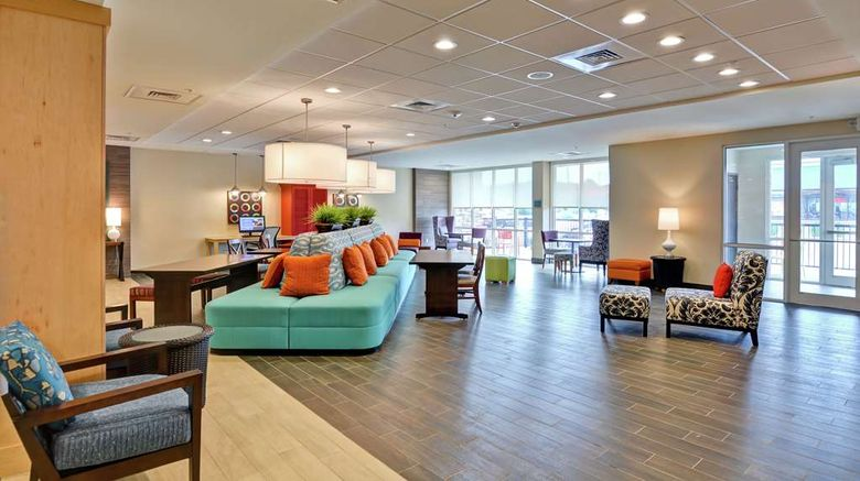 """Home2 Suites by Hilton Meridian Lobby. Images powered by <a href=""""http://web.iceportal.com"""" target=""""_blank"""" rel=""""noopener"""">Ice Portal</a>."""