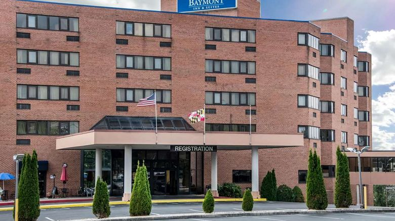 """Baymont Inn  and  Suites Hagerstow Exterior. Images powered by <a href=""""http://web.iceportal.com"""" target=""""_blank"""" rel=""""noopener"""">Ice Portal</a>."""