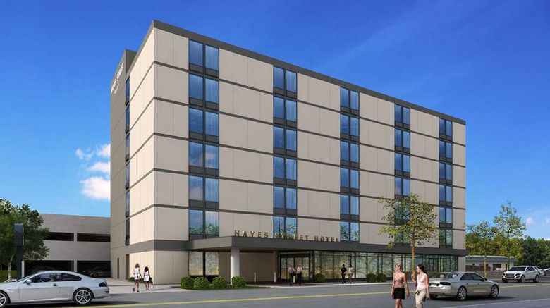 """Hayes Steet Hotel Exterior. Images powered by <a href=""""http://web.iceportal.com"""" target=""""_blank"""" rel=""""noopener"""">Ice Portal</a>."""