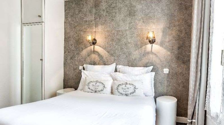 """Hotel Atelier Montparnasse Paris Room. Images powered by <a href=""""http://web.iceportal.com"""" target=""""_blank"""" rel=""""noopener"""">Ice Portal</a>."""