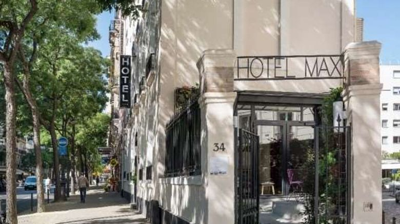 """Hotel Max Exterior. Images powered by <a href=""""http://web.iceportal.com"""" target=""""_blank"""" rel=""""noopener"""">Ice Portal</a>."""