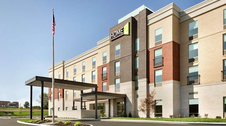 """Home2 Suites Florence Cincinnati Arpt S Exterior. Images powered by <a href=""""http://web.iceportal.com"""" target=""""_blank"""" rel=""""noopener"""">Ice Portal</a>."""