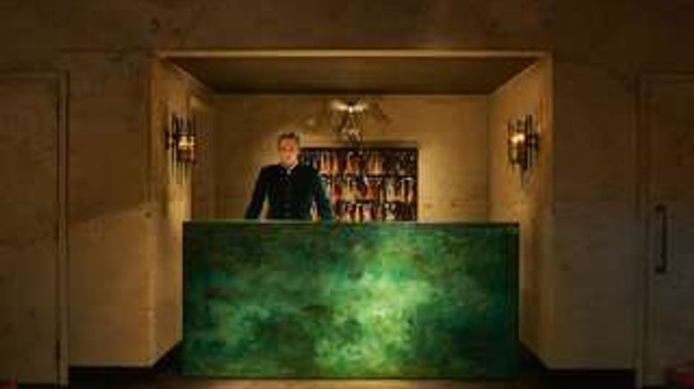 """The Mandrake Hotel Lobby. Images powered by <a href=""""http://web.iceportal.com"""" target=""""_blank"""" rel=""""noopener"""">Ice Portal</a>."""