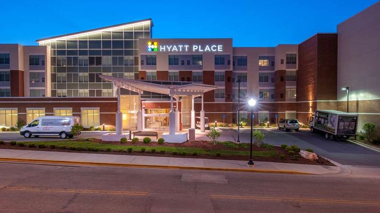 """Hyatt Place Bowling Green Exterior. Images powered by <a href=""""http://web.iceportal.com"""" target=""""_blank"""" rel=""""noopener"""">Ice Portal</a>."""