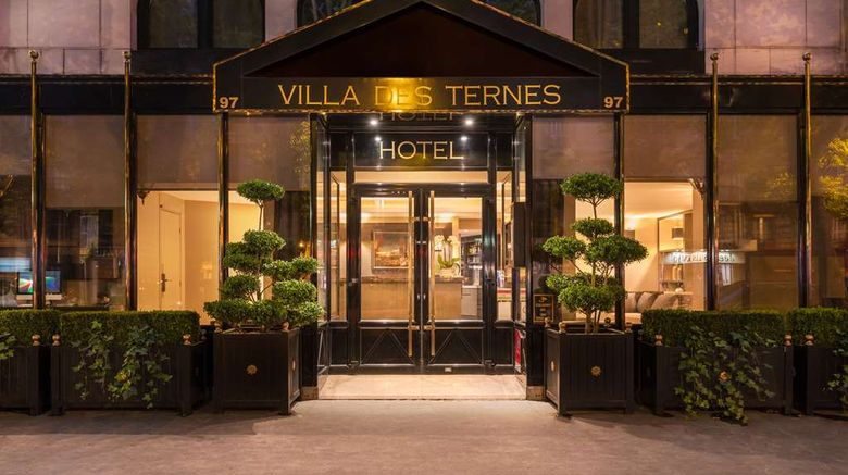 """Hotel Villa Des Ternes Exterior. Images powered by <a href=""""http://web.iceportal.com"""" target=""""_blank"""" rel=""""noopener"""">Ice Portal</a>."""