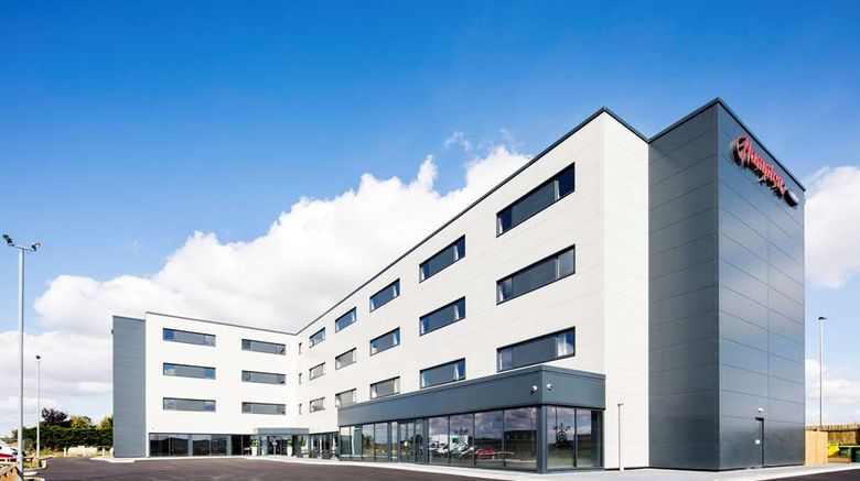"""Hampton by Hilton Humberside Airport Exterior. Images powered by <a href=""""http://web.iceportal.com"""" target=""""_blank"""" rel=""""noopener"""">Ice Portal</a>."""