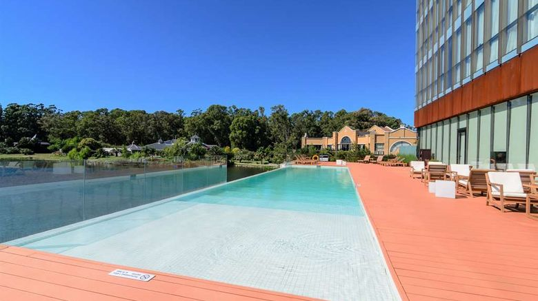 """<b>Hampton by Hilton Montevideo Carrasco Pool</b>. Images powered by <a href=""""https://iceportal.shijigroup.com/"""" title=""""IcePortal"""" target=""""_blank"""">IcePortal</a>."""