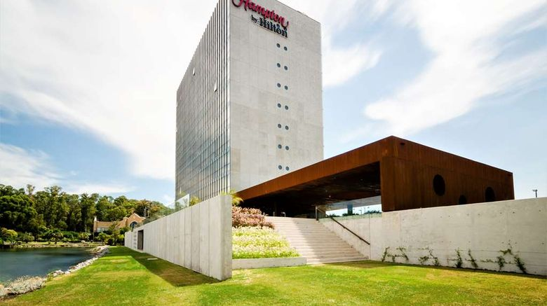 """<b>Hampton by Hilton Montevideo Carrasco Exterior</b>. Images powered by <a href=""""https://iceportal.shijigroup.com/"""" title=""""IcePortal"""" target=""""_blank"""">IcePortal</a>."""