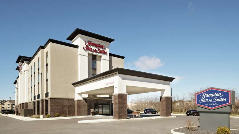 """Hampton Inn  and  Suites St. Louis/Alton Exterior. Images powered by <a href=""""http://web.iceportal.com"""" target=""""_blank"""" rel=""""noopener"""">Ice Portal</a>."""