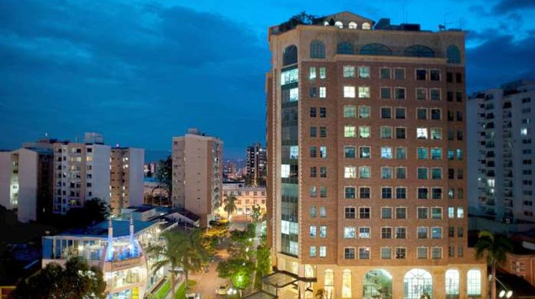 """Hotel Dann Carlton Bucaramanga Exterior. Images powered by <a href=""""http://web.iceportal.com"""" target=""""_blank"""" rel=""""noopener"""">Ice Portal</a>."""