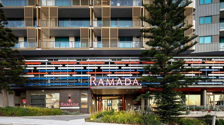 """Ramada VetroBlu Scarborough Beach Exterior. Images powered by <a href=""""http://web.iceportal.com"""" target=""""_blank"""" rel=""""noopener"""">Ice Portal</a>."""