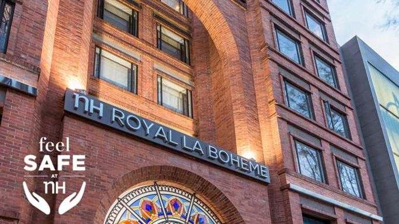 """NH Bogota Royal Boheme Exterior. Images powered by <a href=""""http://web.iceportal.com"""" target=""""_blank"""" rel=""""noopener"""">Ice Portal</a>."""