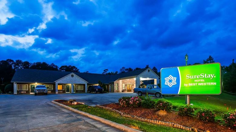 """SureStay Hotel by Best Western Leesville Exterior. Images powered by <a href=""""http://web.iceportal.com"""" target=""""_blank"""" rel=""""noopener"""">Ice Portal</a>."""