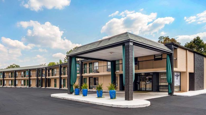 """Rodeway Inn  and  Suites Fort Rucker Exterior. Images powered by <a href=""""http://web.iceportal.com"""" target=""""_blank"""" rel=""""noopener"""">Ice Portal</a>."""