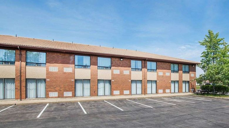 """Comfort Inn Bathurst Exterior. Images powered by <a href=""""http://web.iceportal.com"""" target=""""_blank"""" rel=""""noopener"""">Ice Portal</a>."""