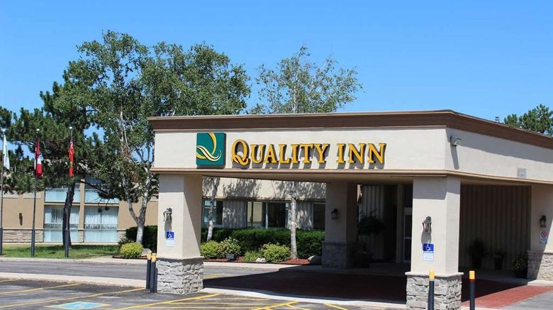 """Quality Inn, Owen Sound Exterior. Images powered by <a href=""""http://web.iceportal.com"""" target=""""_blank"""" rel=""""noopener"""">Ice Portal</a>."""